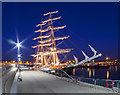 J5082 : Tall Ship 'Mercedes' at Bangor by Rossographer