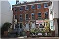 SY6779 : The closed Clipper, 81-2 St Thomas Street by John Stephen