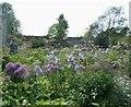 TQ0614 : Parham - part of the garden by Rob Farrow