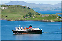 NM8530 : MV Isle of Mull in Oban Bay - June 2016 by The Carlisle Kid