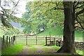 NT1638 : Gate and stile near the Easton Burn by Jim Barton