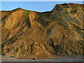TG1443 : Cliff fall west of Sheringham by Hugh Venables