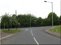 TM0559 : Stowupland Road, Stowmarket by Adrian Cable