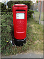 TM0559 : Charles Industrial Estate Postbox by Geographer