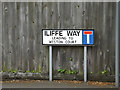 TM0458 : Iliffe Way sign by Adrian Cable