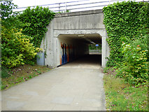 NT0987 : Comely Park underpass by Thomas Nugent