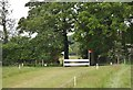 SJ6938 : Brand Hall Horse Trials: cross-country obstacle by Jonathan Hutchins