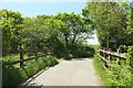 SS2808 : Lane crossing Bude Aqueduct by Derek Harper