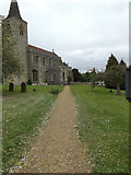 TL9759 : St.Nicholas's Church, Rattlesden by Adrian Cable