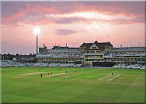 SK5838 : Trent Bridge: a floodlit One Day Cup match by John Sutton