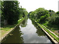 SP0394 : View south east-Tame Valley Canal, West Midlands by Martin Richard Phelan