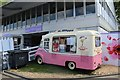 TQ2877 : Mr Whippy at the Chelsea Flower Show by Richard Hoare