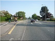 NZ2542 : Bus stop and shelter on Newcastle Road, Crossgate Moor by JThomas
