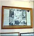 TG2812 : Holy Trinity church - RAF Rackheath museum room by Evelyn Simak