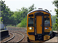 NT0987 : Train approaching Dunfermline Town station by Thomas Nugent