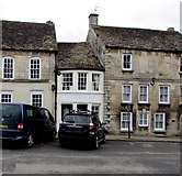 SO8700 : Black car, White Room, High Street, Minchinhampton by Jaggery