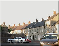 H8745 : Houses in Castle Street, Armagh by Eric Jones