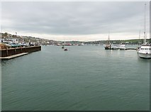 SW8132 : The Inner Harbour, Falmouth, Cornwall by Derek Voller