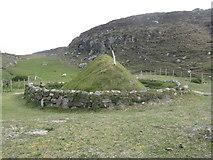 NB1340 : Bostadh Iron Age House by M J Richardson