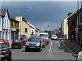 H4572 : A dark sky over Campsie, Omagh by Kenneth  Allen