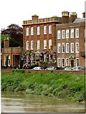 TF4509 : Peckover House by the River Nene by Steve Daniels