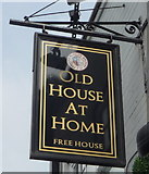 SJ8545 : Sign for the Old House At Home public house, Hartshill by JThomas