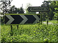 TL9282 : Roadsigns off the A1066 Thetford Road by Adrian Cable