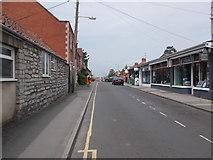 ST5038 : The Archers Way - High Street by Betty Longbottom