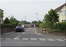 ST3288 : Junction of Christchurch Road and Lincoln Close, Newport by Jaggery