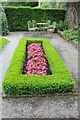 SH5573 : Section of Parterre garden at Plas Cadnant by Richard Hoare