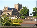 H8745 : St Patrick's CoI Cathedral from the Killylea Road viaduct by Eric Jones