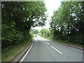 SJ7961 : Heading north west on the Newcastle Road (A50) by JThomas