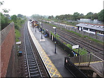 SE4081 : View north from Thirsk station by Gareth James