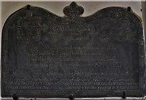 SX1156 : St. Winnow, St. Winnow Church: The William Sawle monument by Michael Garlick