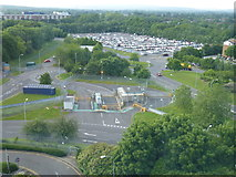 TQ2741 : A view from the Premier Inn - North Terminal, Gatwick Airport by Richard Humphrey