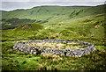 NN7633 : Sheep enclosure in Glen Almond by David