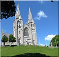 H8745 : The front façade of St Patrick's Catholic Cathedral by Eric Jones
