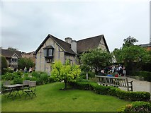 SP2055 : The garden of Shakespeare's birthplace on Henley Street by David Gearing