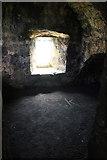 HU4039 : Cellar in Scalloway Castle by Mike Pennington