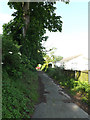 TM0948 : Church Path to Church Lane by Adrian Cable