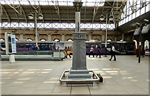SJ8497 : Piccadilly Station War Memorial: Left face by Gerald England
