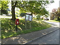 TM0649 : St.Marys Close Postbox & Offton Village Notice Board by Adrian Cable