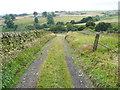 SE0222 : Clough Bank Lane approaching Kennel Lane, Sowerby by Humphrey Bolton