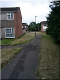 SZ0794 : Ensbury Park: footpath N23 from Columbia Road by Chris Downer