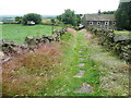 SE0222 : Clough Bank Lane, Sowerby by Humphrey Bolton