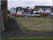 SZ0794 : Ensbury Park: footpath N25 by Chris Downer