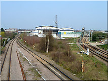 TQ2182 : Powerday and railways by Robin Webster