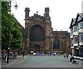 SJ4066 : Chester Cathedral - West Front by Rob Farrow