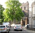 H8745 : Early morning sunshine in Armagh's Cathedral Close by Eric Jones