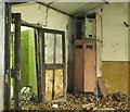 TG2712 : The old Ration Store (interior) by Evelyn Simak